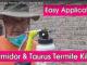 applying termidor and taurus termiticide