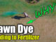 dye for lawn spray