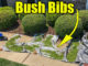 bush trimming drop cloth