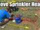 moving a sprinkler head
