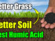 best humic acid lawns