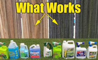 fence and deck cleaners