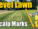 leveling lawns and yards
