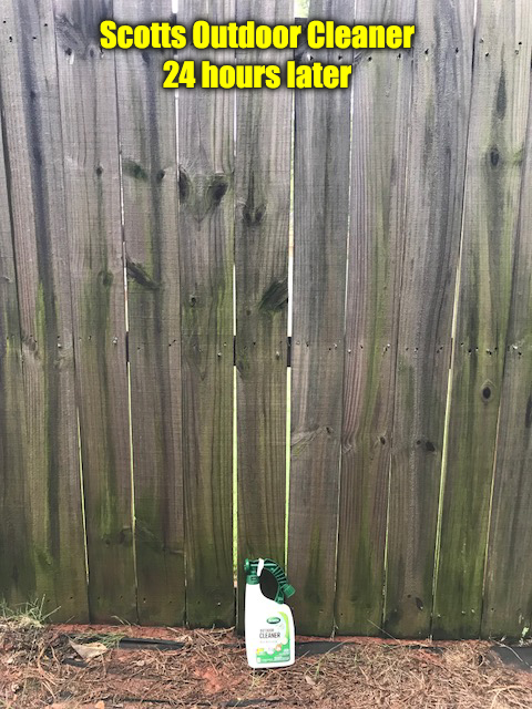 scotts outdoor cleaner fence