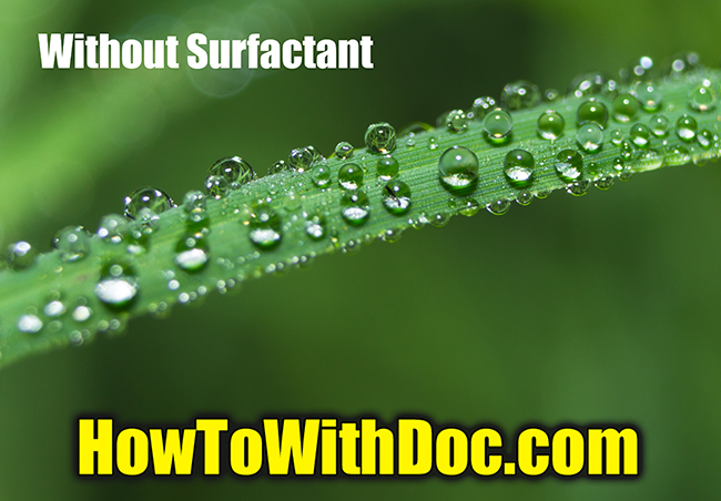 surfactant for lawn care