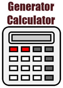 generator calculator