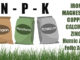 fertilizer npk numbers