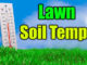 lawn soil temperatures