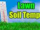 lawn soil temperatures