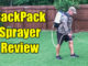 battery packpack sprayer
