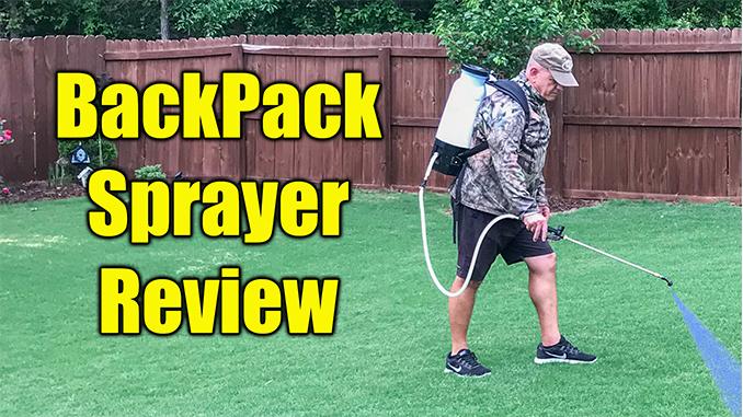 battery packpack sprayer