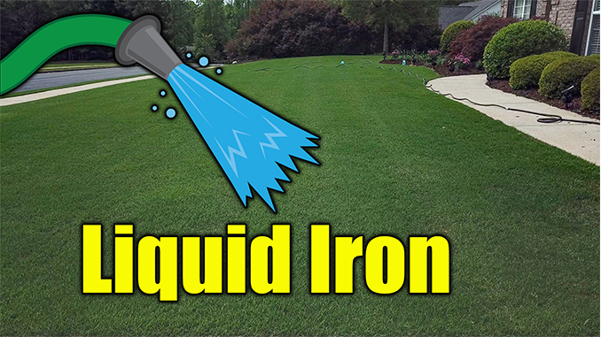 liquid iron lawn