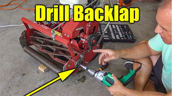 backlap reel mower