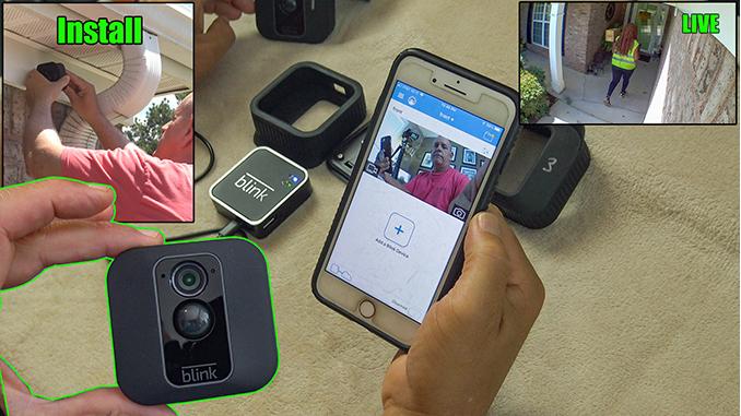 wireless home video camera