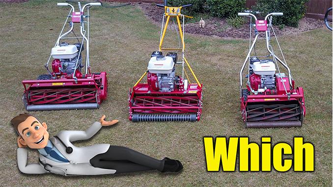 Bermuda Grass Reel Mower Lawn Care