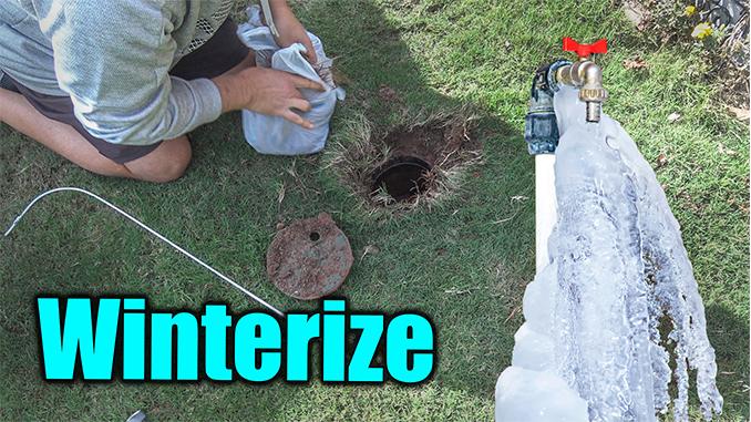 winterize sprinker system