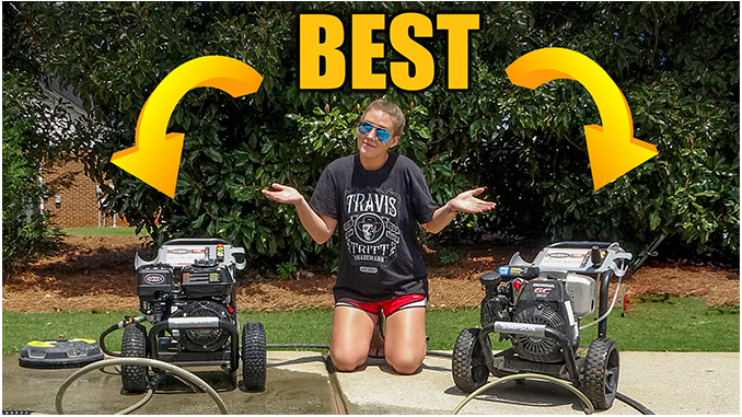 Pressure washer review - Best pressure washer