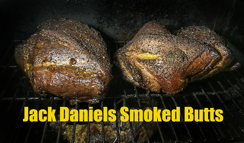 how to smoke boston butt