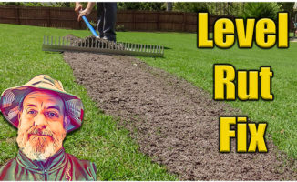 leveling lawns