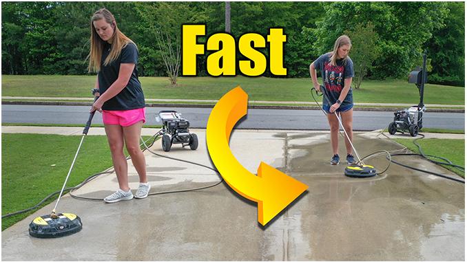 How to Pressure Wash Concrete Driveway