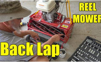 reel mower back lap