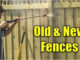 pressure washing fences