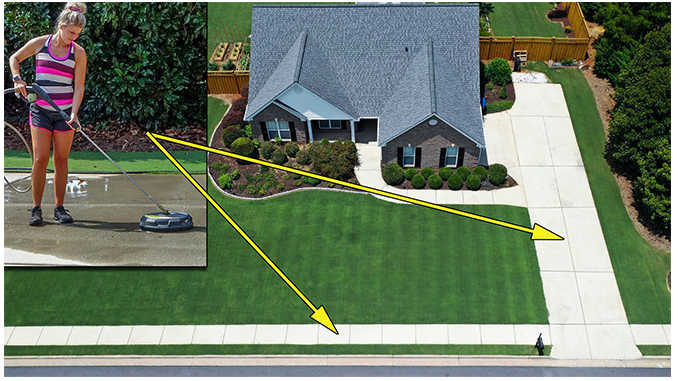 How to Pressure Wash Driveways