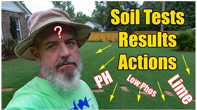 Reading Lawn Soil Test Results