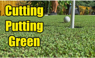 home putting green cutting