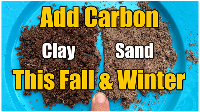 adding carbon to soil