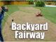 backyard golf fairway