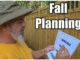 fall lawn care planning