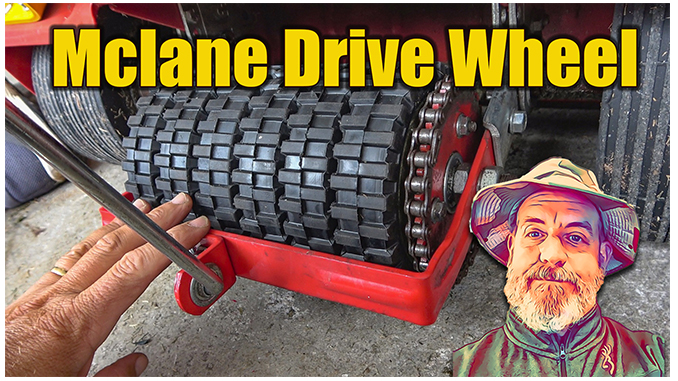 replace mclane drive wheel