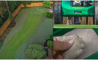 aerate and seeding cool season