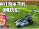 ego battery lawn mower