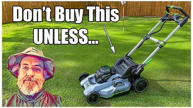 ego battery lawn mower