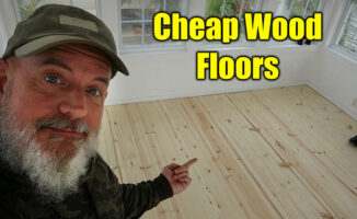 cheap wood floors