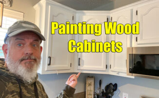 painting wood cabinets