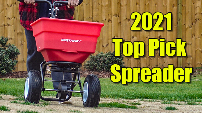 best large lawn spreader