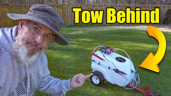 tow behind sprayer review