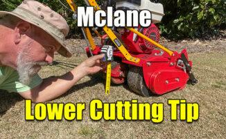 lower mclane cutting height