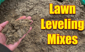 lawn leveling mix