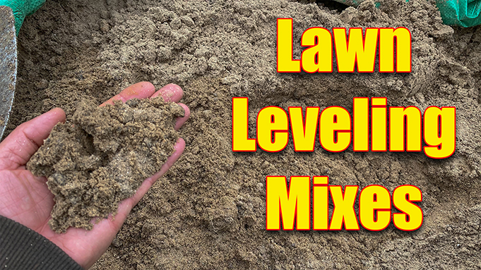 Lawn Leveling Mixes