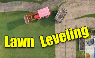 leveling lawn