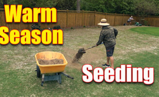 seeding warm season grasses