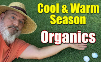 when to apply organic to lawns