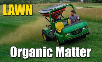 lawn organic matter fertilizer