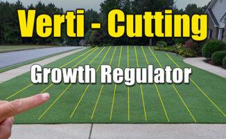 verti cutting lawns